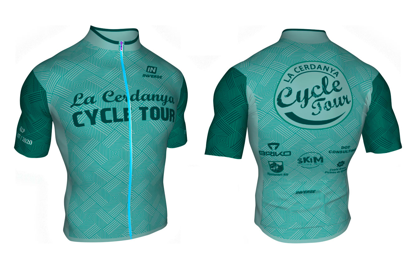 Maillot , jersey la Cerdanya Cicle Tour 202
